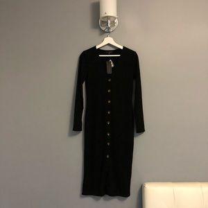 Dynamite Dresses - Ribbed Midi Dress